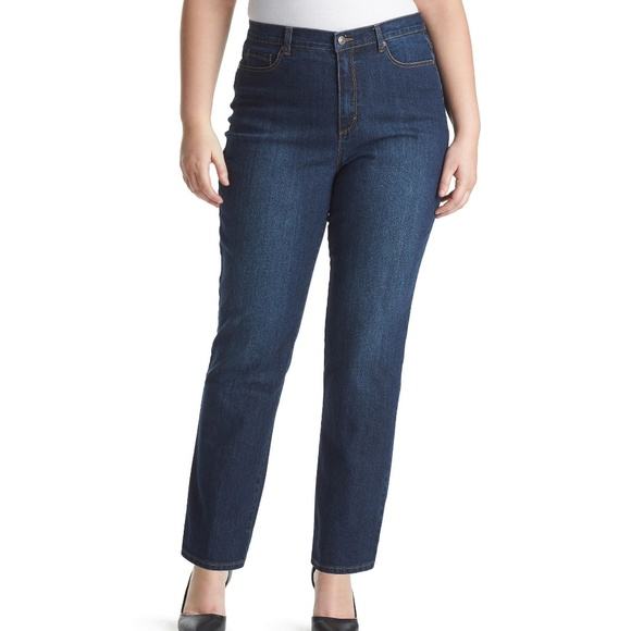 Gloria Vanderbilt Denim - Gloria Vanderbilt Amanda Stretch Blue Jeans Sz 14
